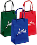 Gem Gloss Eurotote Gift Bags